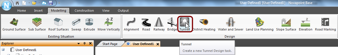 Tunnel button